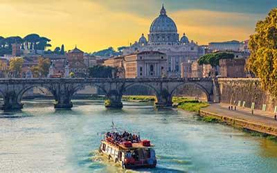 Río Tíber de Roma